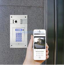 WiFi/RJ45 IP Video Door Phone via Smartphone Control,remote control door access