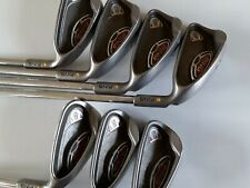 PING G10 IRON SET 5 TO SW STIFF AWT STEEL SHAFTS YELLOW DOT