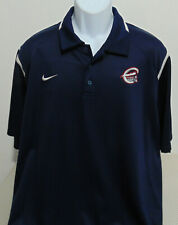 MiLB Syracuse Chiefs Blue Nike Polo Golf Shirt Mens XL