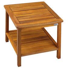 Gartentisch Beistelltisch Holz Balkontisch Couchtisch Holztisch Garten Massiv