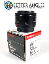 Canon EF 50mm f1.8 II Lens-Risk Free Guaranteed!