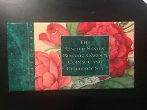 U.S. Botanic Garden Coinage and Currency 3 Piece Set 1997 P 90% Silver BU OGP