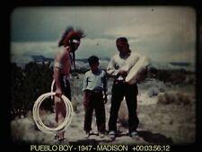 16mm Film: Pueblo Boy 1947 Madison 21m 1s Kodachrome Sound VIDEO Evaluation