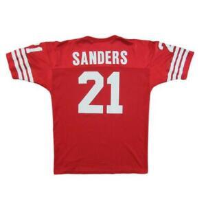 1994 San Francisco 49ers Deion Sanders Vintage Football Jersey Champion Sz 44