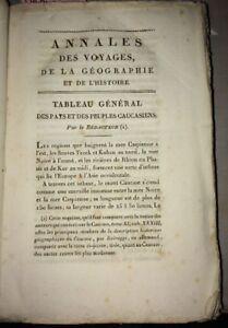 TABLEAU GÉNÉRAL DES PAYS ET DES PEUPLES CAUCASIENS. 1810.