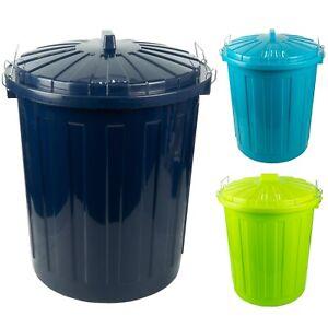 Maxitonne 50l mit Farbwahl, Tonne aus Hartplastik, Mülleimer Küche, Futtertonne