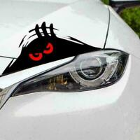3D Funny Peeking Eyes For Car Bumper Window Wall Vinyl Decal Sticker Black U0I9
