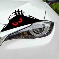 3D Funny Peeking Eyes For Car Bumper Window Wall Vinyl Decal Sticker Black U0I9