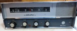 VINTAGE HALLICRAFTERS CRX-2 SINGLE BAND FM SHORTWAVE RADIO