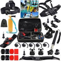 2018 27in1 Basic Accessories Bundle Kit GoPro Hero 5 4 Black Session 3+ 3 SJCAM