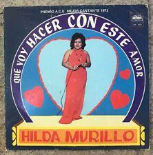 HILDA MURILLO QUE VOY HACER CON ESTE AMOR HEAR! RARE LATIN FUNK SOUL ECUADOR VG+