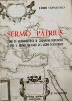 Sermo Patrius, temi di versione per il ginnasio e il biennio liceo scient.- ER