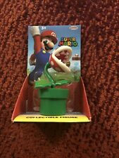"Super Mario Piranha Plant figure 2.5"" Nintendo Jakks New!"
