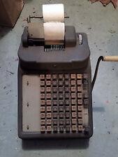 Burroughs Antique Adding Machine Calculator