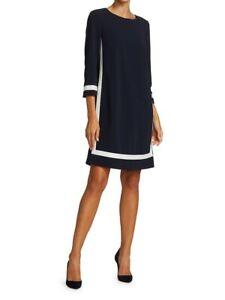 Max Mara Fresis Tunic Dress Navy Size 6 $995