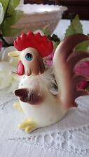 Vintage Norcrest Hen / Rooster / Chicken Ceramic FIGURINE-Japan