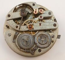 High-Grade Swiss Ulysse Humbert Locle Pocket Watch Movement .