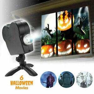Wunderland Fenster Projektor Festival Halloween Xmas Projektionslampe DE