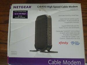 Netgear Cable Modem (CM400-100NAS) DOCSIS 3.0 (340 Mbps)