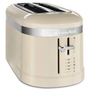 KitchenAid Design Almond Cream 2 Slot Toaster