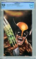 Wolverine #1 Unknown / Comics Elite Virgin Exclusive - CBCS 9.8!