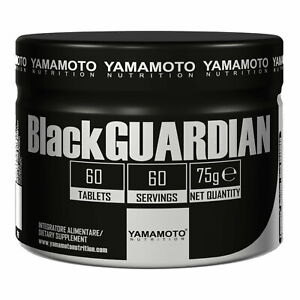 Yamamoto Nutrition Black GUARDIAN® 60 Caps OCS on cycle support Liver