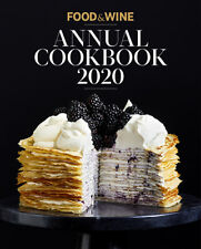 Food & Wine: Annual Cookbook 2020 Hardcover 2020 Editors of Food & Wine - New