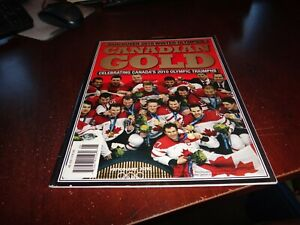 CANADIAN GOLD Vancouver 2010 WINTER OLYMPICS Magazine ICE HOCKEY Gold Medal