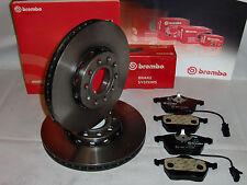 Brembo Bremsenkit Scheiben + Beläge Bremsensatz  Audi A4  8K2,8K5,B8-A5 (314mm)