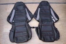 1993-1999 Mazda RX-7 FD-3S Genuine Leather Seat Covers Black