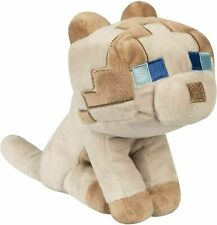 Minecraft Happy Explorer Ragdoll Cat Gray Plush 6 inch Mojang Jinx kitty Tags