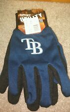Tampa Bay Rays MLB Official Winter Utility Gloves OSFM NWT