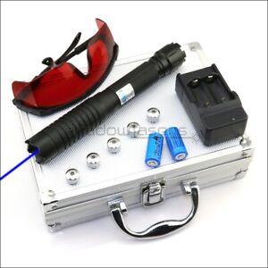 BQ6 Thor M II Adjustable Focus 1MW 450nm Blue Laser Pointer Visible Laser Torch