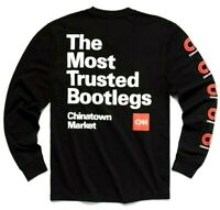 Chinatown Market MOST TRUSTED Black T-Shirt Long Sleeve Size S M L XL 2XL
