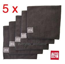 5 x Autoglym Microfibre Cleaning Cloth Towel Car Waxing Polishing Detailing