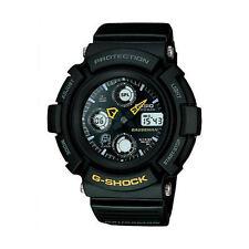 """RETRO 1998 Casio G-Shock Mint Condition """"GAUSSMAN MEN IN BLACK"""" AW571BM-1 Watch"""