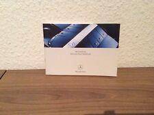 Mercedes-Benz Service-Heft für G/C/M/A/S/SLK/CLK/SL/CL-Klassen