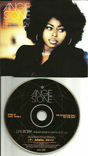 ANGIE STONE Life Story w/ RARE RADIO EDIT Europe Made PROMO CD single USA Seller
