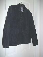 AMERICAN CLASSICS LADIES M 100% BLACK LEATHER JACKET COAT OUTERWEAR SHORT COAT