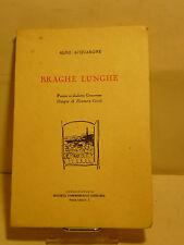 ACQUARONE : BRAGHE LUNGHE - GENOVA 1953 DIALETTO POESIA