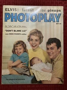 Photoplay Magazine May 1959 Tony Curtis Janet Leigh Elvis Presley