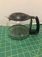 Krups DuoThek Duo Thek Double Coffee Maker 10 Cup Glass Carafe part