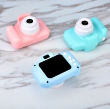 1080P Digital Camera 2.0'' LCD HD Mimi Camera With 32G TF Card For Children Blue