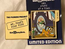 Disney WDW Florida Project Building One Story at a Time Mr. Toad's LE 750 Pin
