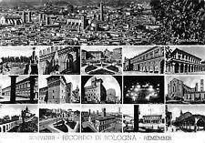 3550) SOUVENIR, RICORDO DI BOLOGNA, REMEMBER, 16 VEDUTINE. VIAGGIATA NEL 1963.
