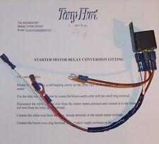 Triumph Stag starter motor relay conversion set.