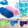 Ice Cold Running Jogging Gym Cooling Towel Quick-drying Towel Outdoor Travel AU