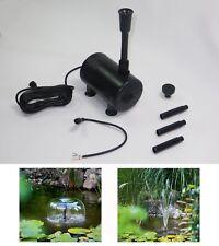 12 Volt Solar Ersatzpumpe Solarpumpe Teichpumpe Gartenteichpumpe Watersplash 610