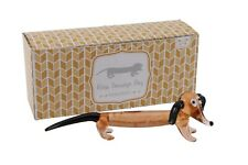 SOUL-30PW Dachshund Dogs /'Soulmates/' Sentiment Glass Paperweight in Gift Box Ch