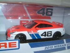 1/43 NISSAN GT-R R35 2015 BRE #46 PETER BROCK TRIBUTE. GREENLIGHT